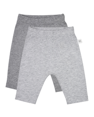 Baby Breathable Pull-On Pants, 2 Pack Grey