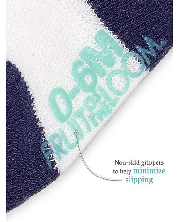 Baby Boys' Grow & Fit Socks, 6 Pack Blue Multi