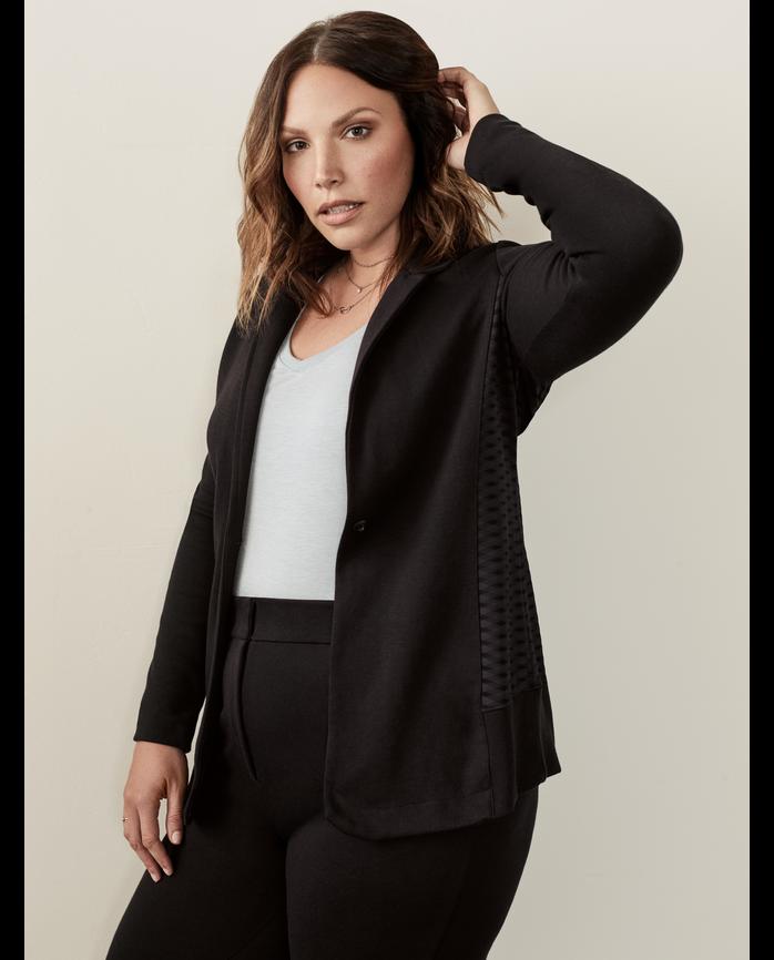 Women's Seek No Further® Blazer, 1 Pack Brilliant Black