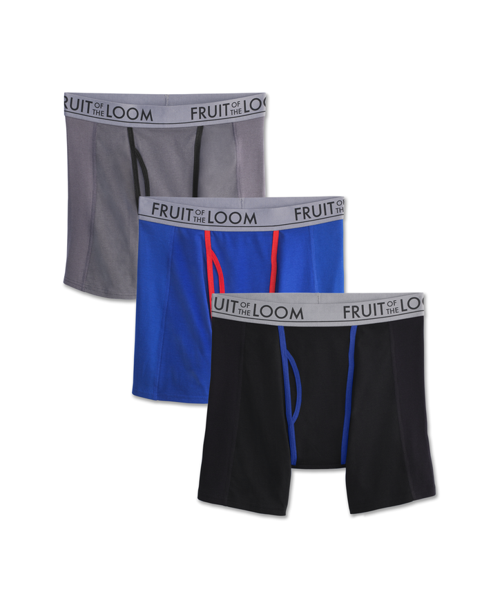 Men's Ultra Flex Boxer Brief, 3-Pack