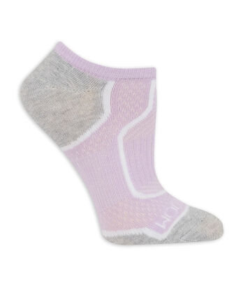 Fruit of the Loom womens 3 Pack Breathable No Show Tab Sock Casual Sock
