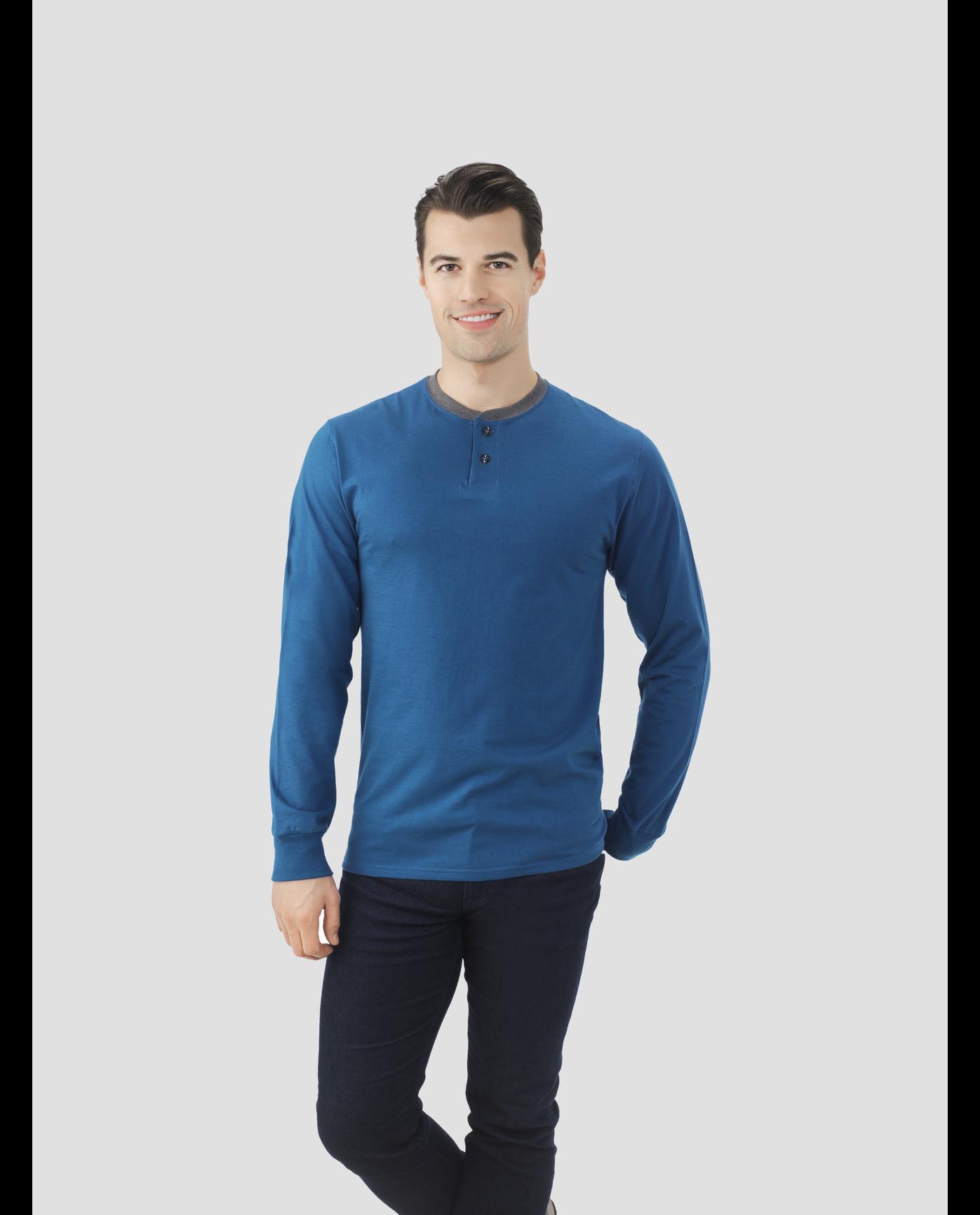 6eb7b4f6b559a Select Long Sleeve Henley T-Shirt - Fruit US