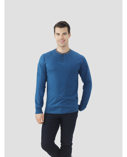 Select Long Sleeve Henley T-Shirt