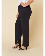 Women's Seek No Further Plus Size Trouser Dress Pants Brilliant Black