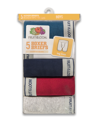 Boys' Assorted Boxer Brief, 5 pack ASSORTED