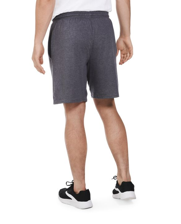 Men's Dual Defense® Jersey Shorts, 1 Pack, Extended Sizes charocal heather