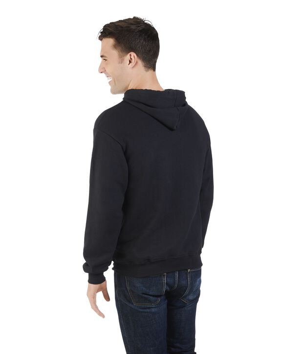 Men's Limited Edition Printed Logo Hoodie, 1 Pack Black