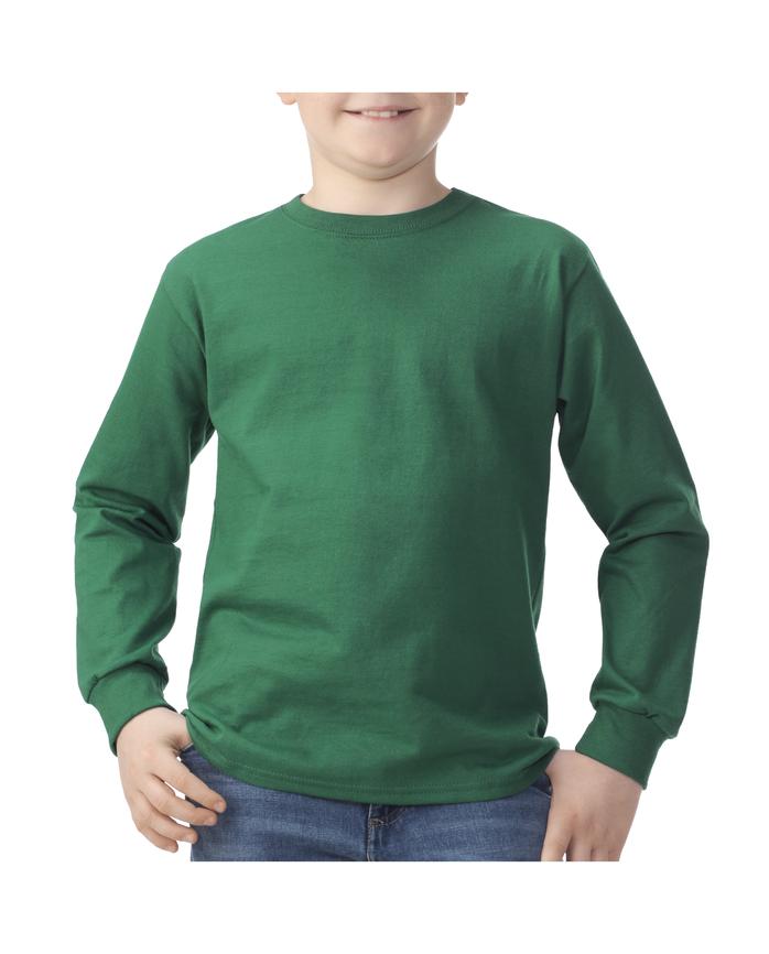 Boys'Long Sleeve T-Shirt, 1 Pack Clover