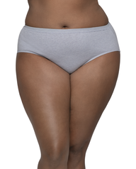 Women's Plus Fit for Me Assorted Beyondsoft Brief Panty, 6 Pack ASSORTED