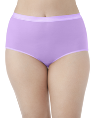 Fit for Me by Fruit of the Loom EverLight Briefs, 4 Pack Plus Size Panties Assorted