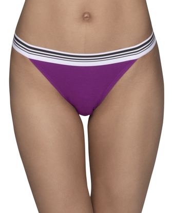 Young Women's Assorted High Leg Bikini, 3 Pack