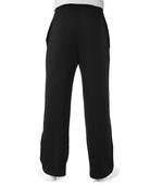 Men's Super Soft Fleece Open Bottom Sweatpants, 1 Pack Black