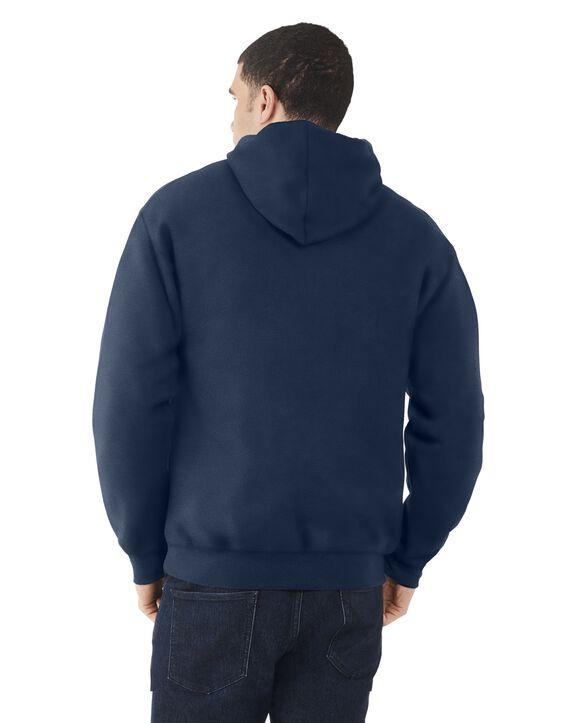 Men's EverSoft Fleece Pullover Hoodie Sweatshirt, 1 Pack Navy
