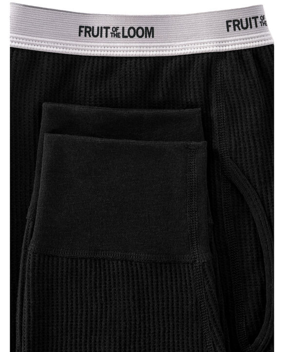 Men's Classic Thermal Underwear Bottom Black