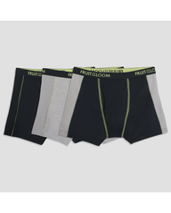 Fruit of the Loom Boys' 3pk Breathable Ultra Flex Boxer Briefs - Assorted Colors