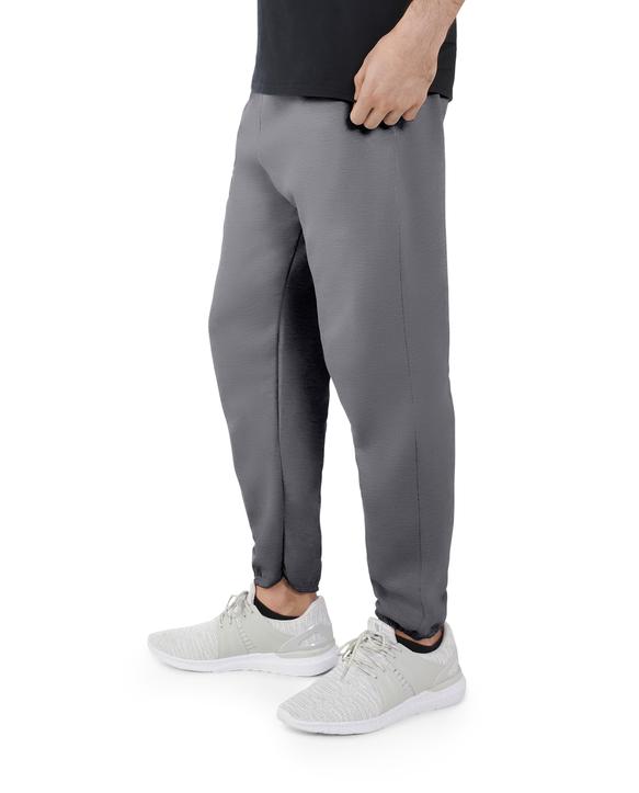 Big Men's EverSoft Fleece Elastic Bottom Sweatpants, 1 Pack Charcoal Heather