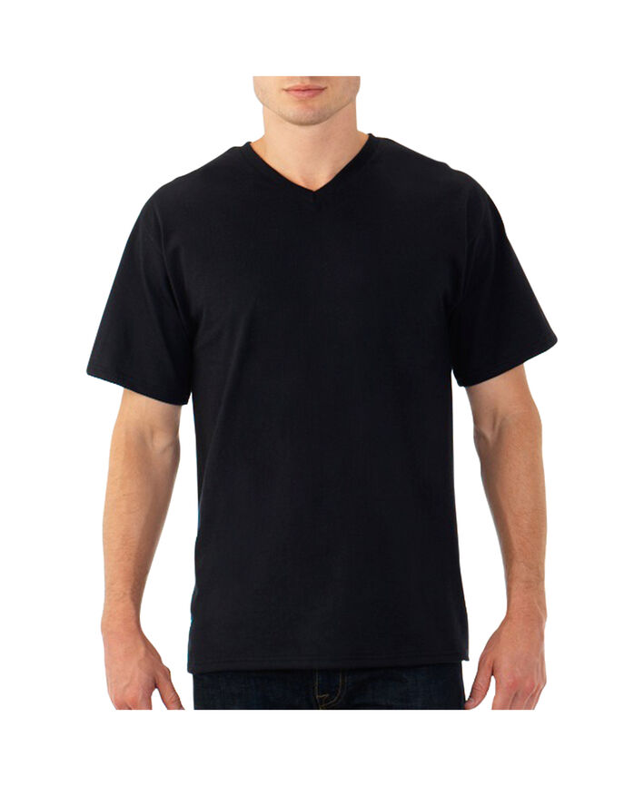 Men's EverSoft V-Neck T-shirt, Extended Sizes