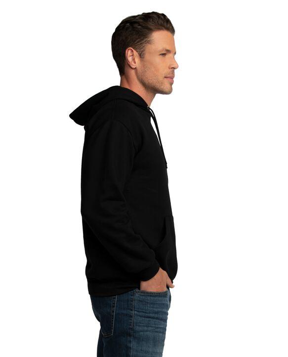 EverSoft Fleece Pullover Hoodie Sweatshirt, 1 Pack Black