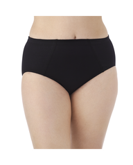 Fit for Me by Fruit of the Loom Women's 4 Pack Flexible Fit Brief Assorted
