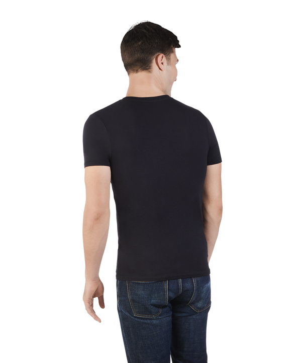 Men's Limited Edition Printed Logo T-Shirt, 1 Pack Black