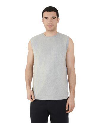 Big Men's Dual Defense UPF Sleeveless Muscle Shirt