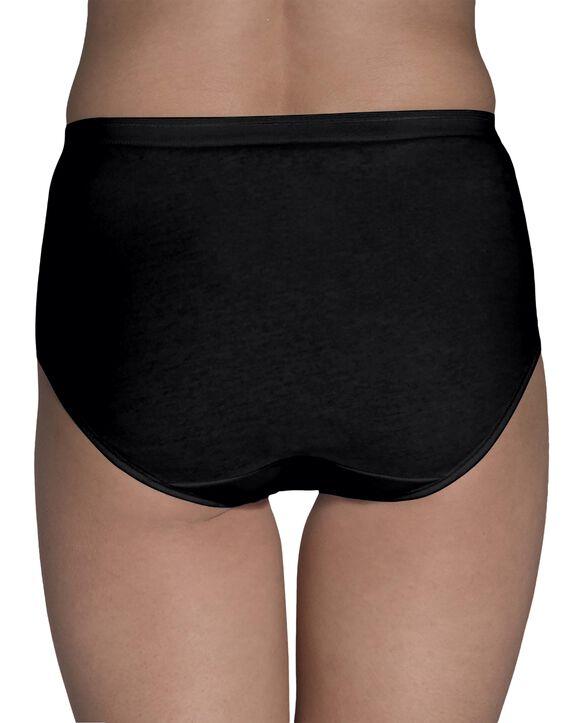 Women's Cotton Brief Underwear, 6 Pack