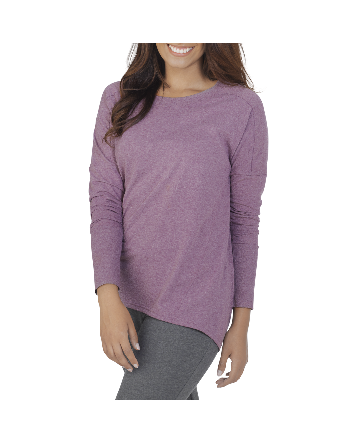 Fruit of the Loom Women's Essentials All Day Long Sleeve