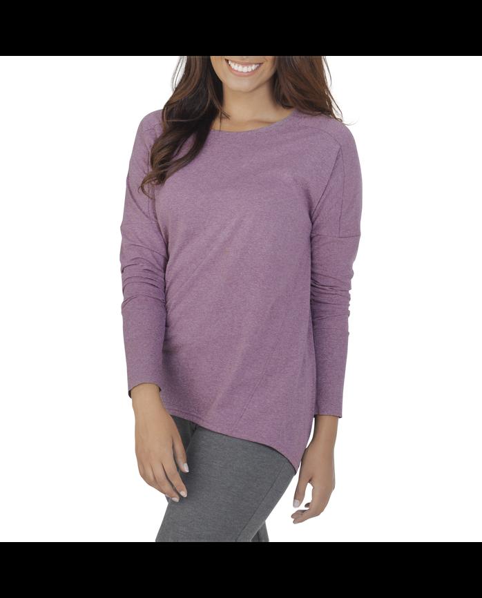 Women's Essentials All Day Long Sleeve Scoop Neck T-Shirt