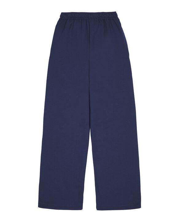Boys' Fleece Open Bottom Sweatpants, 1 Pack Navy
