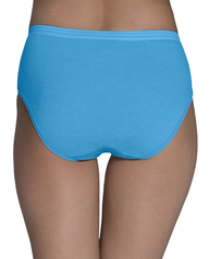Women's Heather Low Rise Brief, 6 Pack