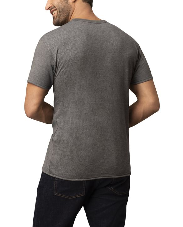 Men's Short Sleeve Crew CoolZone T-Shirt, 2 Pack Cold Metal Gray