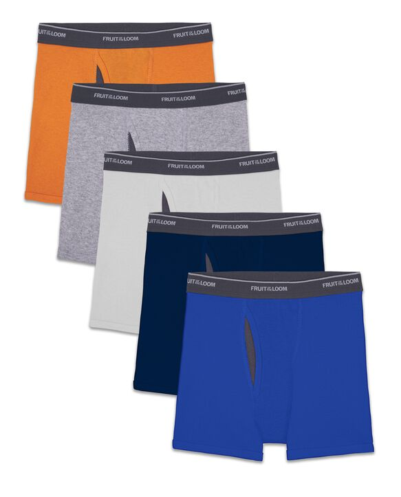 Boys Coolzone 5 Pack Assorted Boxer Brief