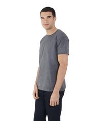 Big Men's Dual Defense® Crew Neck T-Shirt, 1 Pack Charcoal Heather