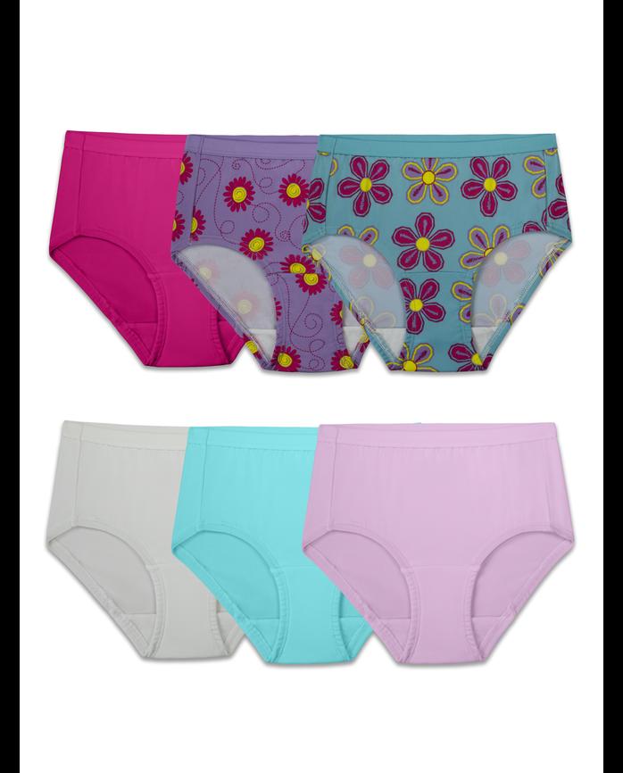 8e2448b762d Girls  Assorted Microfiber Brief Underwear