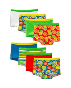 Girls' 8 Pack Assorted Color Boy Short