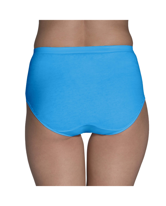 Women's Cotton Assorted Brief, 6 Pack Assorted