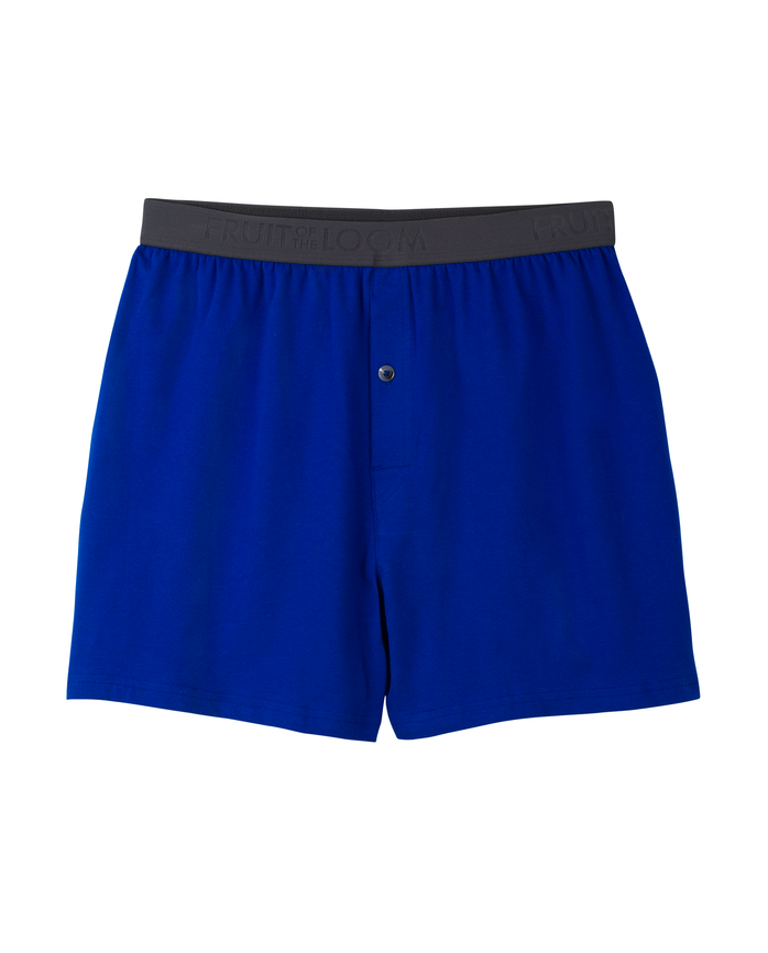 Men's Breathable Cooling Cotton Micro Mesh Knit Boxer, 1 Pack