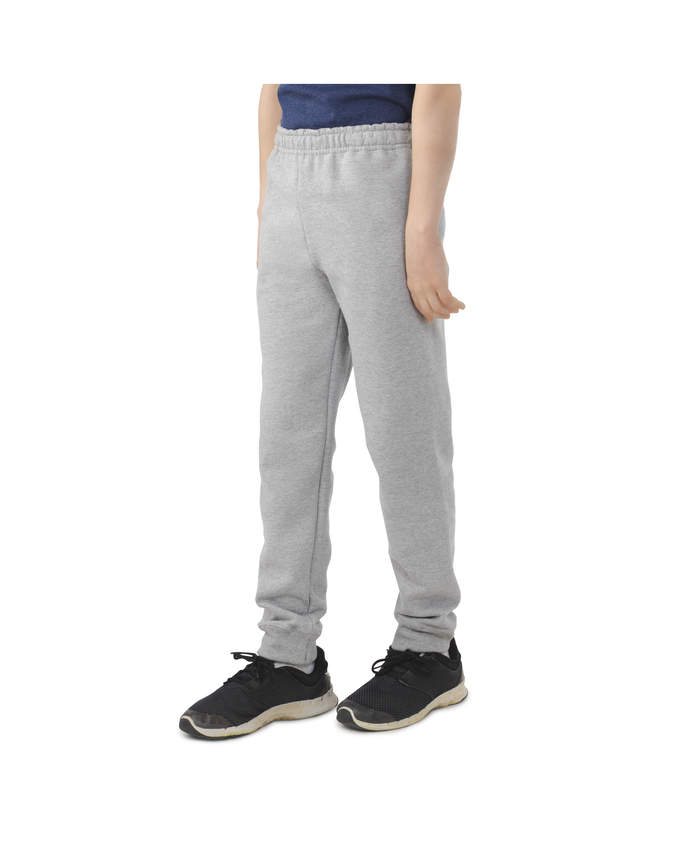 Boys' Fleece Joggers, 1 Pack Athletic Heather
