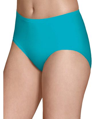 Women's Breathable Micro-Mesh Low Rise Brief Underwear, 4 Pack