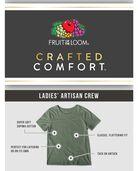 Women's Crafted Comfort™ Artisan Crew Tee Hedge