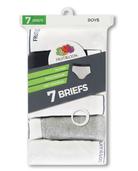 Boys' Assorted Wardrobe Briefs, 7 Pack Assorted
