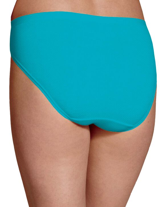 Women's Breathable Micro-Mesh Bikini Underwear, 6 Pack ASSORTED