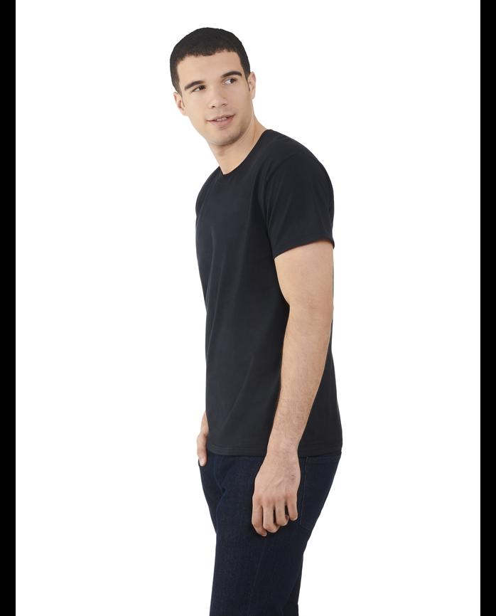 Men's Dual Defense® Crew Neck T-Shirt, 1 Pack, Extended Sizes Black