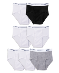 Boys' Assorted Wardrobe Briefs, 7 Pack ASSORTED