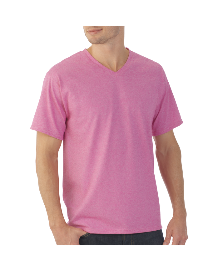 Men's EverSoft Micro Stripe V-neck T-Shirt
