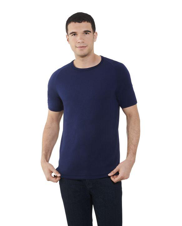 Men's Short Sleeve EverLight™ Raglan T-Shirt, 2 Pack Jnavy