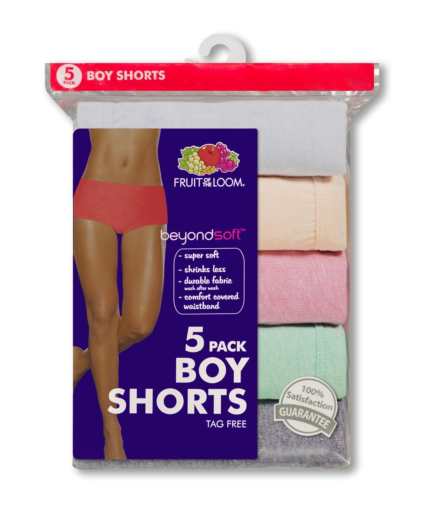 05a355958b9a Women's 6 Pack beyondsoft Boy Short - Fruit US