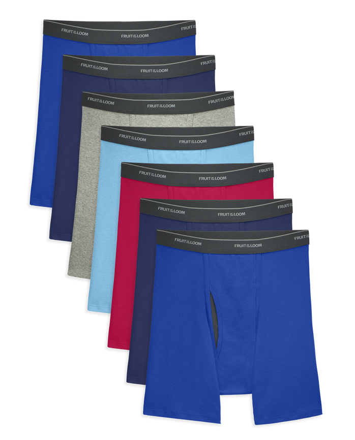 Men's COOLZONE Assorted Boxer Briefs, 7 Pack