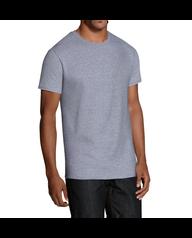 Men's Dual Defense Black/Gray Crew T-Shirts, 5 Pack