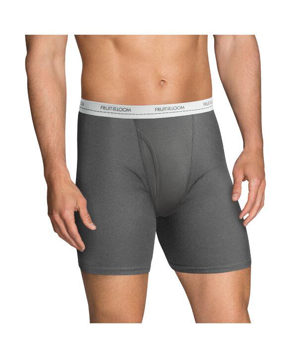 Men's Active Cotton Blend Boxer Briefs, 8 Pack | Fruit